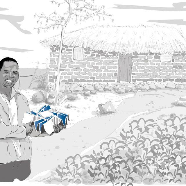 Tansanianischer Bauer_Zeichenfläche 1
